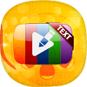 Text on Videos/Photos - Add Stickers on Videos icon