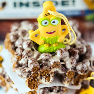 Minion Cocoa Puffs Marshmallow Treats