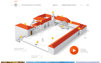 Photo: Site of the Day 7 March 2013 http://www.awwwards.com/web-design-awards/visit-university-of-coimbra