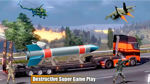Bomb Transporter Sim - City Truck Game 1.0 screenshots 2