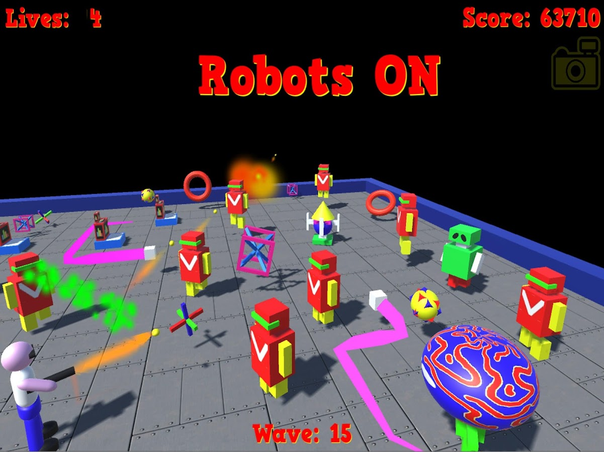 Robots ON- screenshot