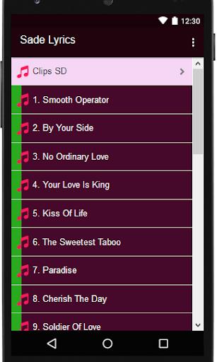 Download Sade Lyrics MP3 Google Play softwares
