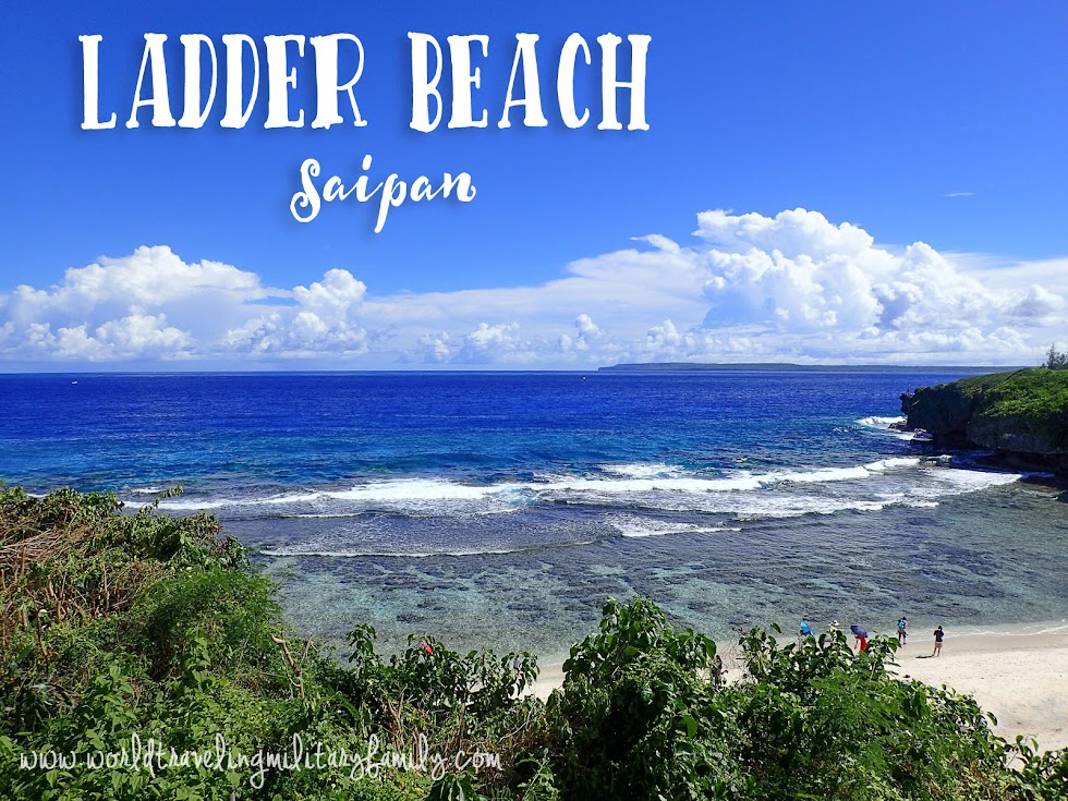 Ladder Beach - Saipan