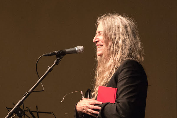 Patti Smith Connects with Students