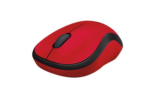 Chuột máy tính Logitech M221 không dây (Đỏ)-3