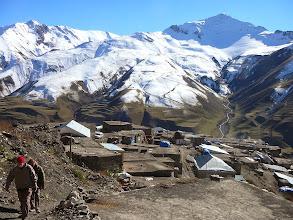 Photo: Hinalig, Azerbajdzsán teteje, Kaukázusi falucska, Kaukázus, Hinalig, Khinalug