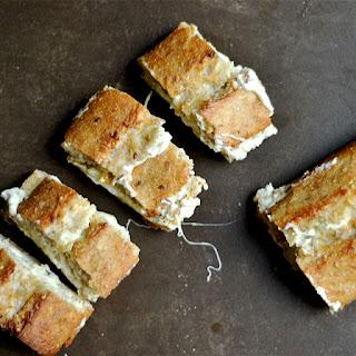 Artichoke Dip Stuffed Garlic Bread