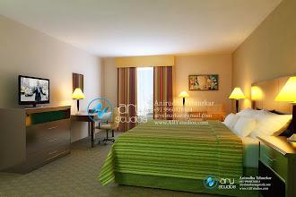 Photo: Hotel Room Rendering