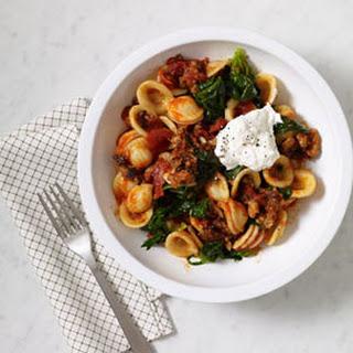 Italian Sausage and Spinach Orecchiette