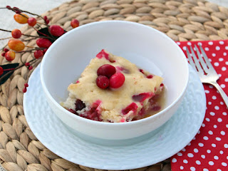 Cranberry Cake With Warm Butterscotch Sauce Recipe