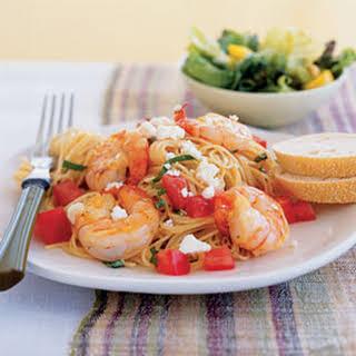 Garden Shrimp Pasta.