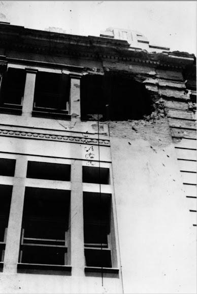 Destrozos en el edificio del IES Celia Viñas