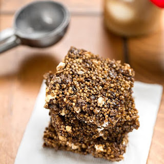 Popped Root Beer Crispy Treats
