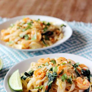 Thai Shrimp Street Noodles.