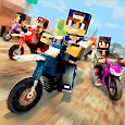 Dirtbike Survival Block Motos - Motorcycle Racing icon