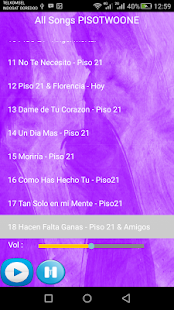 PISO 21 SONGS - náhled