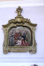 """Photo: *III. stáció: Jézus először esik el a kereszt súlya alatt """"Betegségeinket Ő hordozta, s fájdalmainkat Ő viselte."""" (Iz 53,4)"""