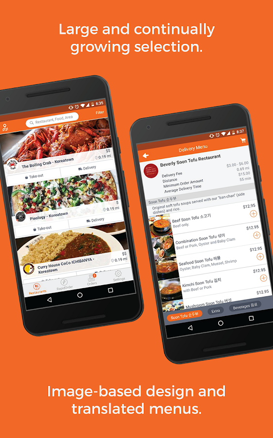 RushOrder: Order Food Delivery, Takeout, & Dine-in- screenshot