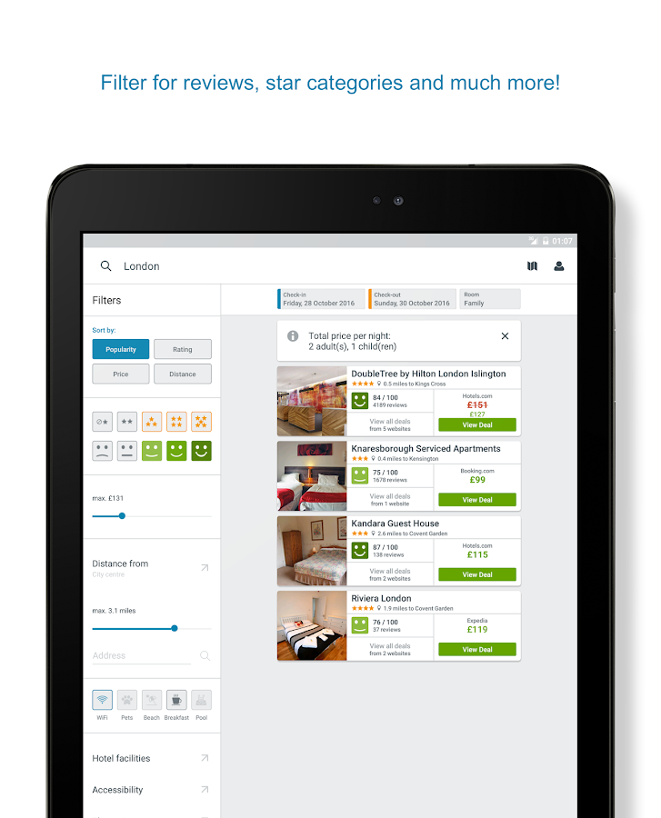 trivago – Compare Hotels & Save Money on Bookings- screenshot