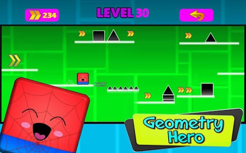Geometry hero-Magic Spider Dash world - náhled