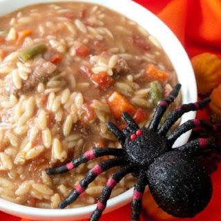 Halloween Maggot Stew