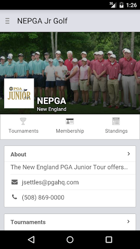 NEPGA Junior Golf Tour