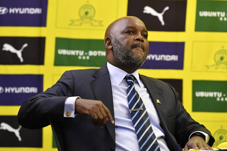 Mamelodi Sundowns coach Pitso Mosimane on May 21, 2020 in Johannesburg, South Africa. Picture: LEFTY SHIVAMBU / GALLO IMAGES