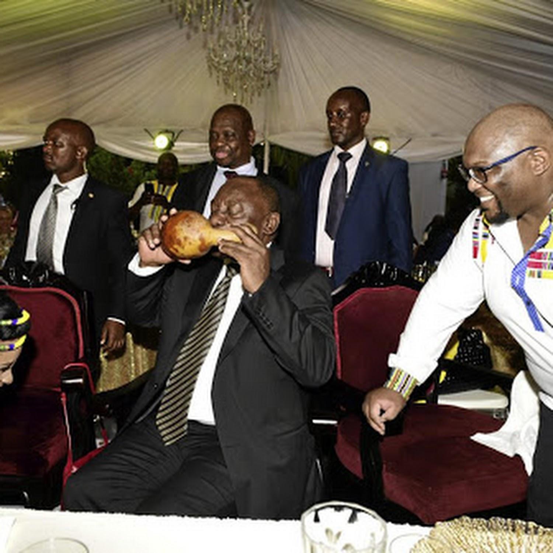 President Ramaphosa S Son Marries In Uganda