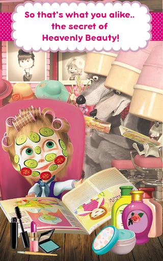 Masha and the Bear: Hair Salon and MakeUp Games 1.0.7 screenshots 17
