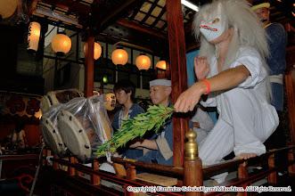 Photo: 【平成20年(2008) 宵宮】  雨にも負けず、熱のこもった演舞。