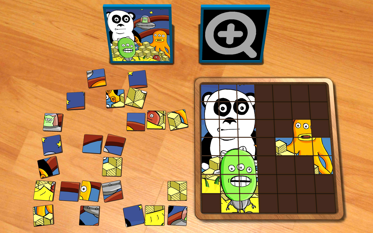Jigsaw Blocks Cartoons- screenshot