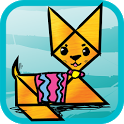 Kids Tangram Puzzles: Cats icon