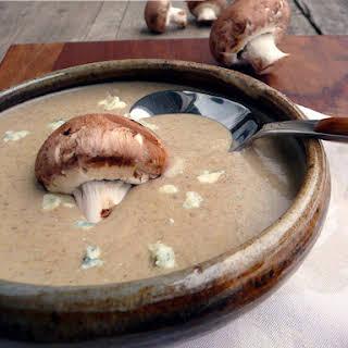 Mushroom Gorgonzola Ale Soup.