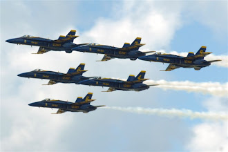 Photo: Group shot in a delta formation