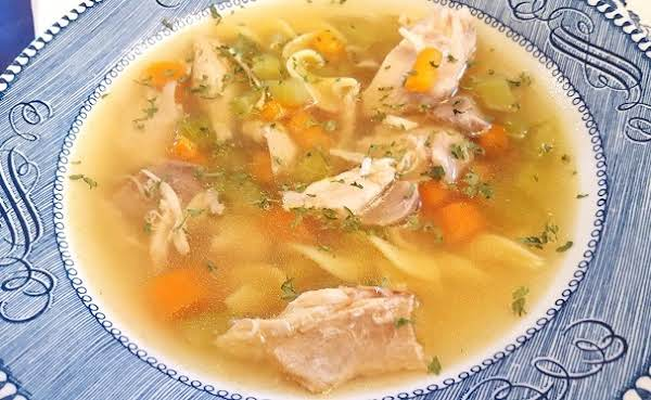 Terrific Turkey Noodle Soup From The Instant Pot! Recipe