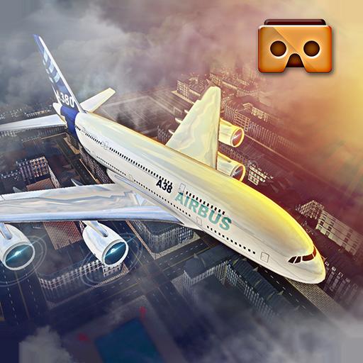 VR Airplane Flight Sim