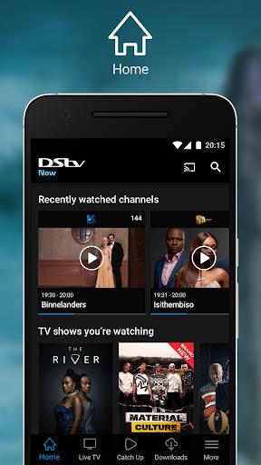 DStv Now screenshot 1