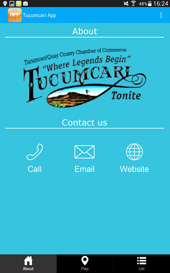 Tucumcari App- screenshot