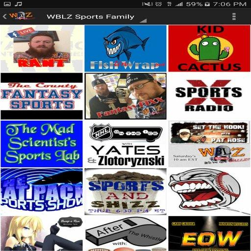 WBLZ Sports- screenshot