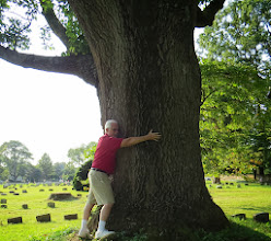 Photo: No doubt this tree was in the old Quaker burial ground in 1737 when Edward began his Indian Walking Purchase on this site. — with Harvey Boatman in Wrightstown, PA.