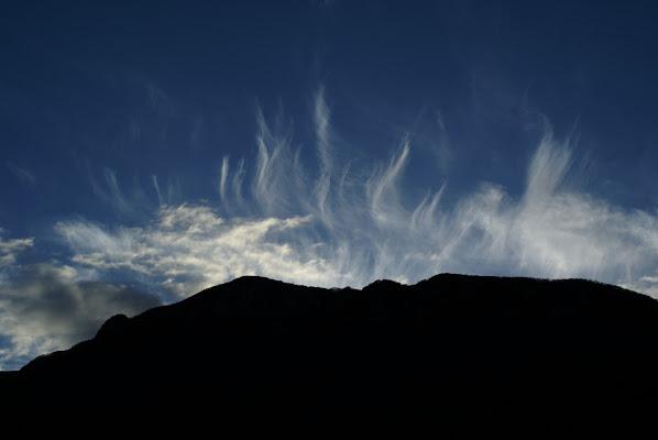 eruzione di nuvole di zucc