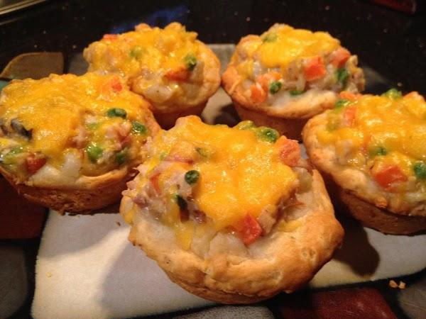 Chicken Pot Pie Muffins Recipe