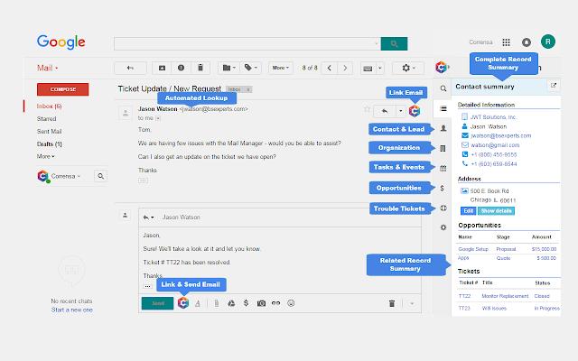Gmail & Office 365 Plugin for VTiger