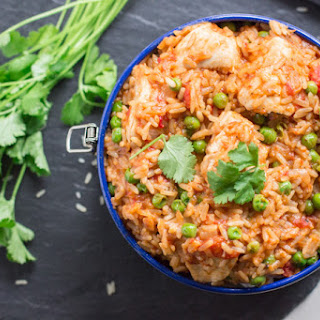 One Pot Easy Chicken and Rice Recipe