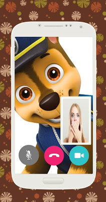 Video call from Paw chase Patrol - screenshot