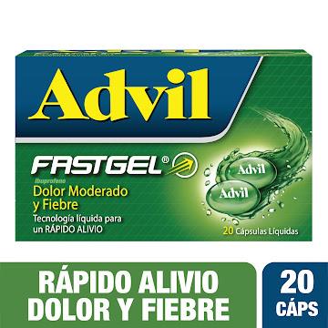 ADVIL FASTGEL Tabletas