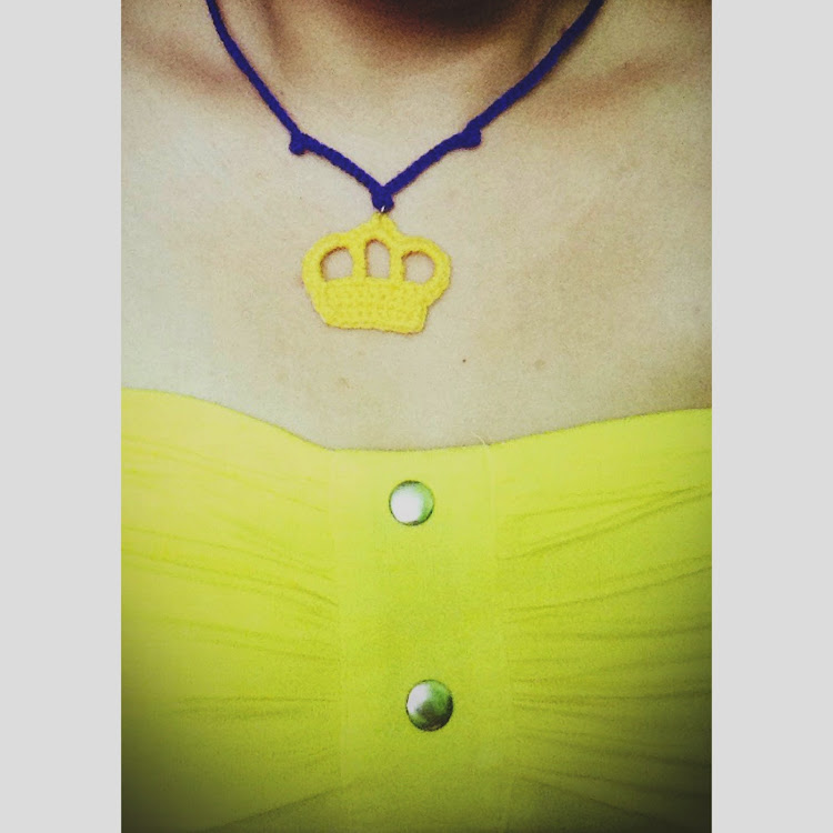 Crown necklace by Ricincraft