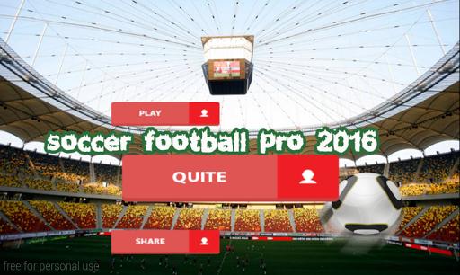 Soccer Football Pro 2016