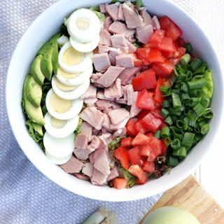 Cobb Salad with Avocado Dressing (Dairy Free).