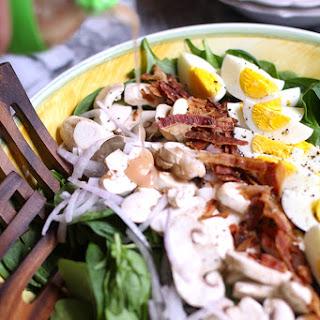 Spinach Salad with Honey Dijon Dressing Recipe